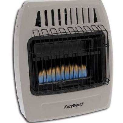 Kozy World KWP254 Propane (LP)Ambient Space Heater