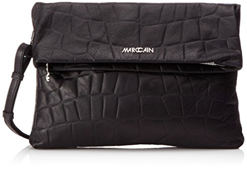 Marc Cain FB TL.02 L09, Pochette Donna Nero (Black 900 900)