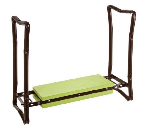Dehner Knie- und Sitzhilfe, für Arbeiten rund um Haus und Garten, ca. 62.5 x 13 x 27 cm, grün
