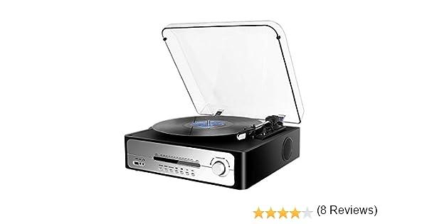 Tocadiscos Función de Reproductor de Discos de Vinilo Vintage ...