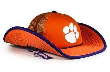 Cowbucker Official NCAA Mesh Wide Brim Cowboy Bucker Hat