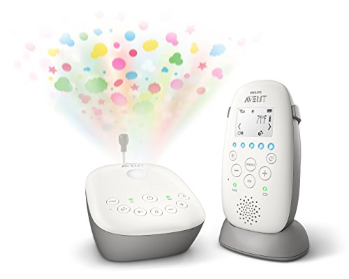 Philips Avent Dect Audio Baby Monitor with Starry Night Projector