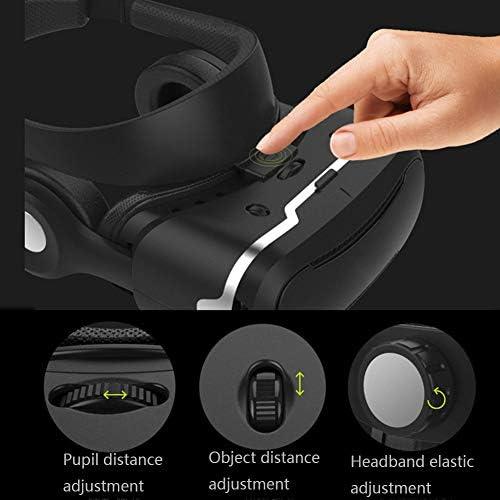 バーチャルリアリティのメガネ 3Dメガネ, ヘッドマウント 視聴覚統合 4.5〜6.0インチのiPhone / Android携帯に適しています