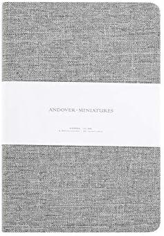 Amazon.com: Cuaderno de tapa dura, estilo vintage, de tela ...