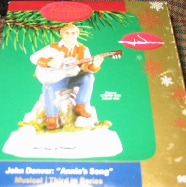 John Denver Carlton Heirloom Ornament ''Annie's Song'' Ornament