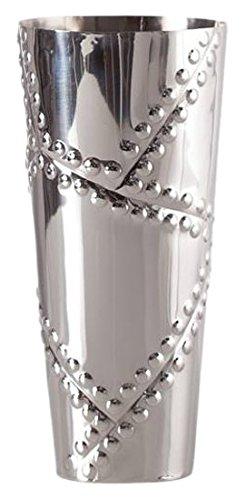Amazon Torre Tagus 902194a Rivet Stainless Steel Vase Short