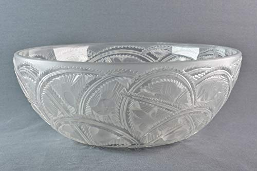 Lalique Crystal pre-1978 Pinsons Finches Bowl for sale  Delivered anywhere in USA