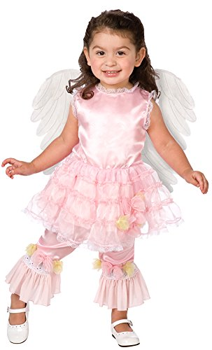 Baby-Toddler-Costume Lilac Angel Toddler Costume 3-4 Halloween Costume (Lilac Angel Toddler Costume)