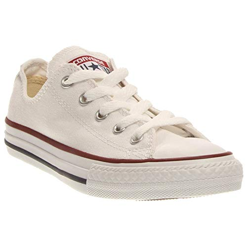 Converse Boys' Chuck Taylor All Star Core Ox (Little Kid), White 11 TOD
