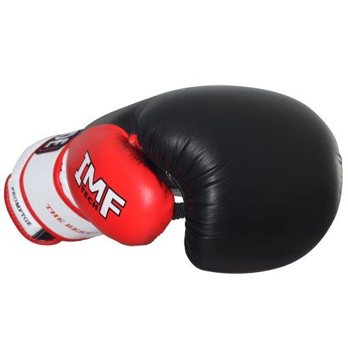 Ringside Pro Style IMF Tech Training Gloves, Elastic (White, 16-Ounce)