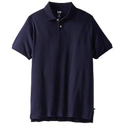 Lee Uniforms Men's Big-Tall Short Sleeve Pique Polo
