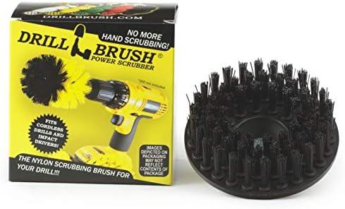 Drillbrush Ultra rígido de nylon roscado 5 /