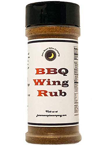 PREMIUM | BBQ Wing Rub | Crafted in Small Batches with Farm Fresh SPICES for Premium Flavor and Zest (Best Smoked Chicken Wings)