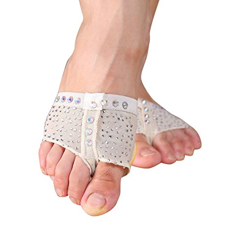 Ballet Belly Protect Foot Women 03 Par Dancing String Wongfon XqHAnH