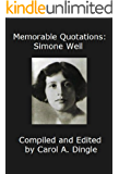 Memorable Quotations: Simone Weil