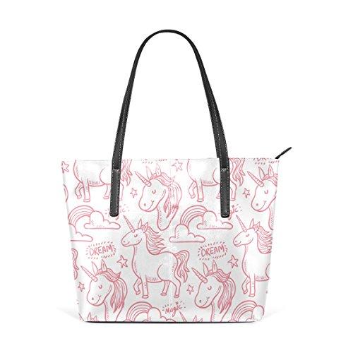 Deyya Wo Top Mango Multicolor2 Unicornio Asas De Mujer Hombro Bolsos Bolsa Impresión pxrpFYf