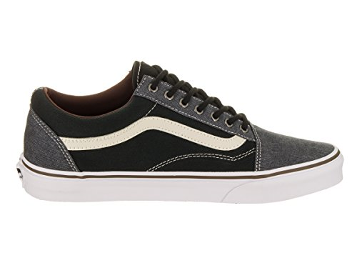 Vans White Skool Baskets U mode Black Homme Grey Old 8g8qxvwAr
