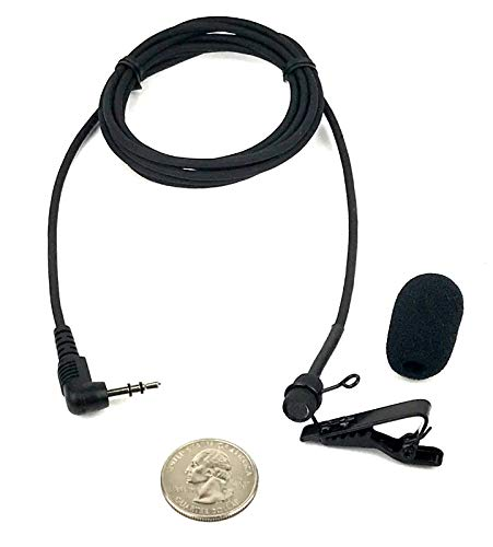 Sound Professionals Premium Ultra-high sensitivity Court Reporter microphone for Steno Machine and computer microphone inputs - includes clip and windscreen - item - Steno Machine