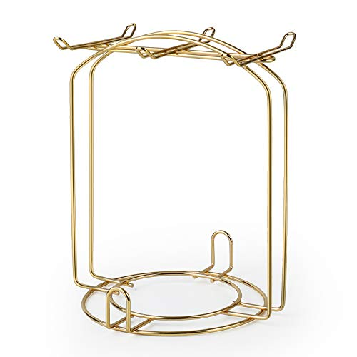 (Stainless Steel Wire Rack Display Stand Service for Tea Cups,Bracket)