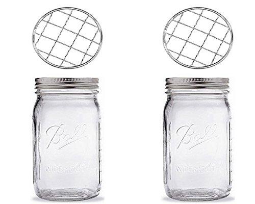 ball half pint jars - 9