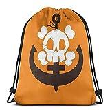 Guilty Gear May (Orange) Sport Sackpack Drawstring