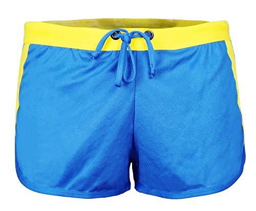 Men's Casual Beach & Surf Summer Shorts Coffee US L(Tag XL) Blue.,Blue,US L(tag XL) ()