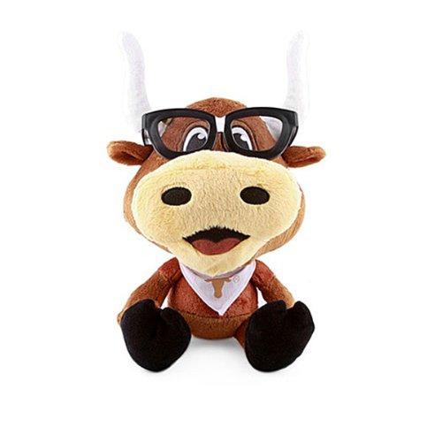 Fabrique Innovations NCAA Texas Longhorns Study Buddy Mascot, Medium, Brown