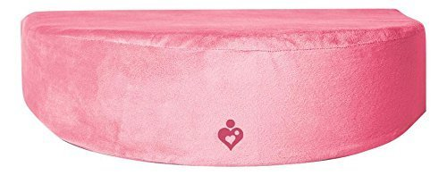 Matterna Pregnancy Maternity Wedge Pillow, Pink
