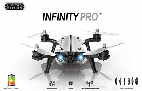 INFINITY PRO+ DRONE BUNDLE AND FPV RC MONITOR + GOGGLES REMOTE CONTROL HD CAMERA LIMITED EDITION