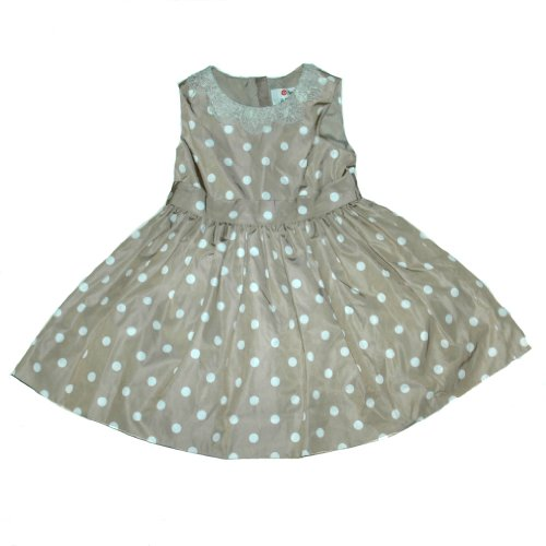 Price comparison product image Neiman Marcus for Target Little Girls Polka Dot Dress 5T Brown