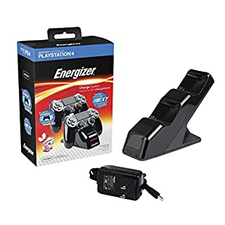 PDP Energizer 2X Charging Station for PS4 - PlayStation 4 - Standard (Black) Edition (B00EADTVL2) | Amazon price tracker / tracking, Amazon price history charts, Amazon price watches, Amazon price drop alerts