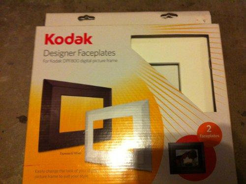 Kodak Designer Faceplates: for Kodak DPF800 digital picture frame. Expresso & White (Expresso Plate compare prices)