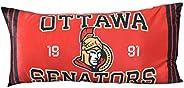 Nemcor NHL Ottawa Senators Body Pillow, Fluffy and Plush Long Side Sleeper Pillow for Hockey Sports Fan Large