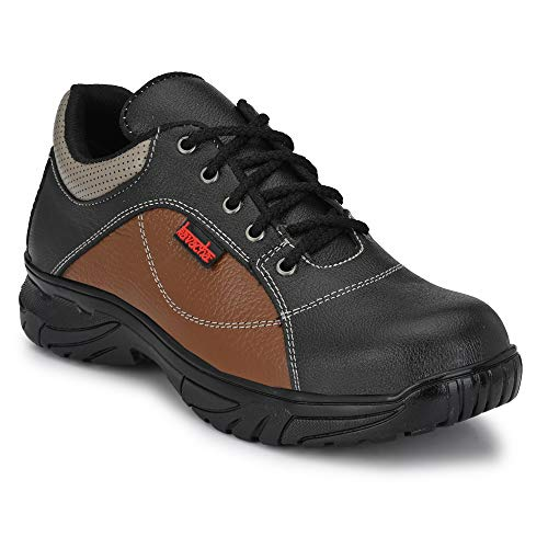 Kavacha Pure Leather Steel Toe Safety Shoe, S71 Size : 8 Price & Reviews