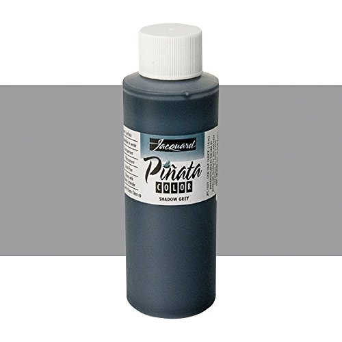 Pinata Shadow Grey Alcohol Ink that by Jacquard, Professional and Versatile Ink that Produces Color-Saturated and Acid-Free Results, 4 Fluid Ounces, Made in the USA by Jacquard