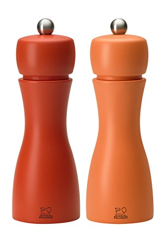 (Peugeot Tahiti DUO Autumn Salt and Pepper Mill Set 15cm - 6