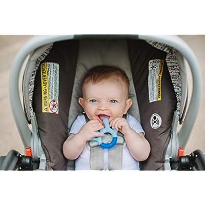 Nuby 3 Step Soothing Teether Set, BPA Free - Colors may vary. : Baby