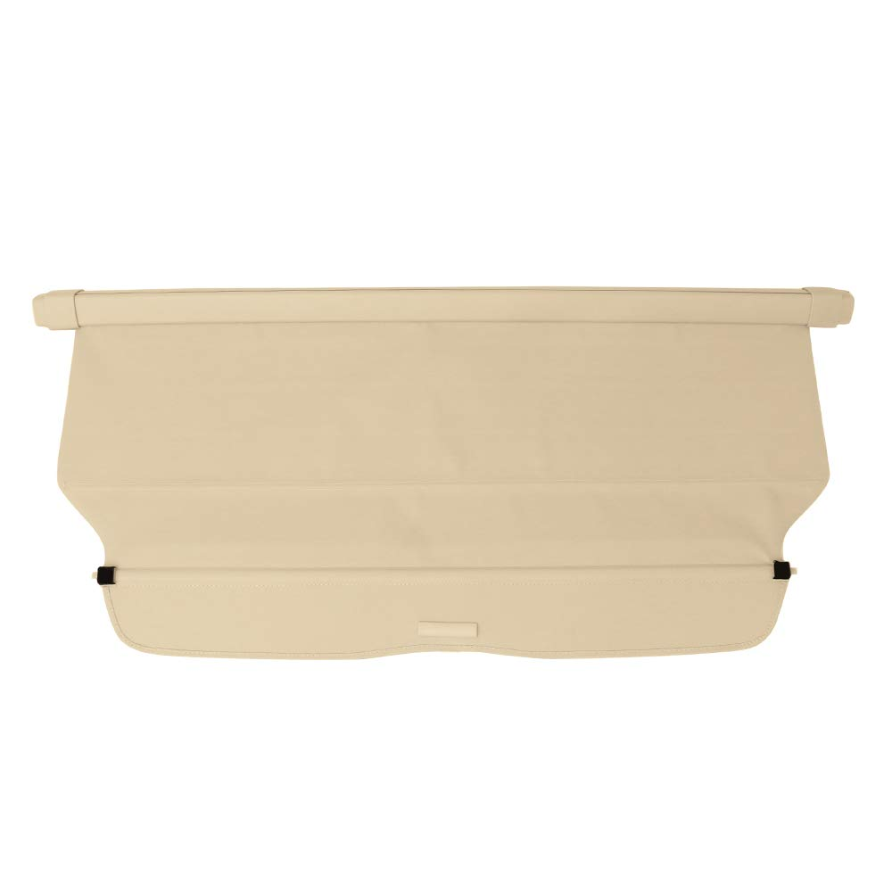 Cargo Cover Compatible With 2012-2016 Honda CRV   Factory Style Beige Luggage Carrier Rear Trunk Security Cover by IKON MOTORSPORTS   2013 2014 2015 by IKON MOTORSPORTS