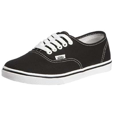 Vans Unisex Authentic Lo Pro Skate Shoe, Black, Size 8.5