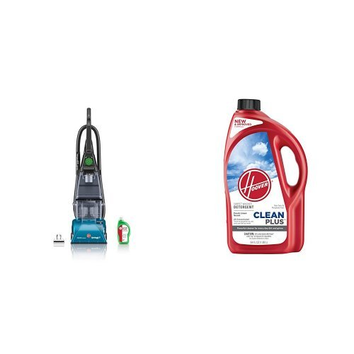 hoover-f5914900-steamvac-carpet-cleaner-with-clean-surge-and-hoover-cleanplus-2x-64oz-carpet-cleaner