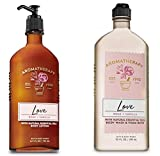 BATH AND BODY WORKS Aromatherapy LOVE - ROSE