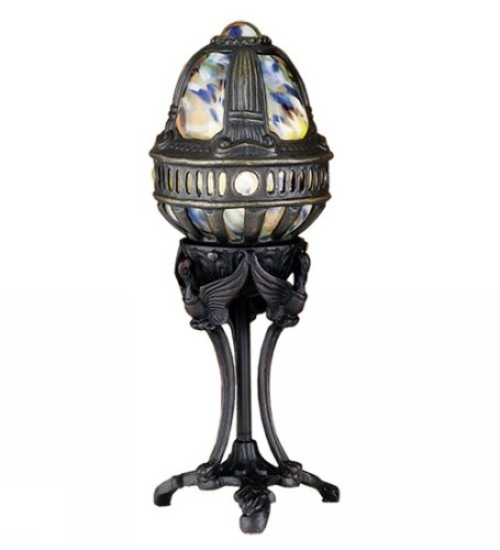 Gothic Castle Swan Accent Table Lamp - Meyda Tiffany Swan