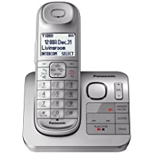 Panasonic KX-TG3680S / KX-TGL430S 1 Handset Cordless Phone with Digital Answering Machine - Comfort Shoulder Handset- Talking Caller ID (Certified Refurbished)