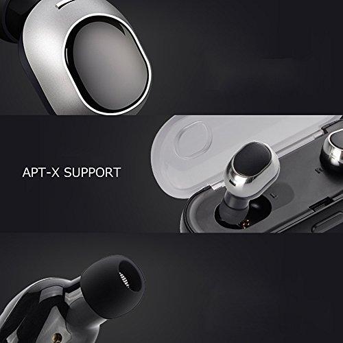 Zagzog V4.2 Auriculares Bluetooth Inalámbricos Mini IPX5 Impermeable Prueba de Sudor Estéreo Cancelación de Ruido Micrófono Incorporado y estuche de Carga ...