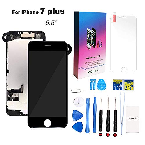 - for iPhone 7 Plus Screen Replacement Kit Black 5.5