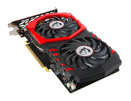 MSI GeForce GTX 1050 Ti Gaming graphics card with Twin Frozr VI cooling system