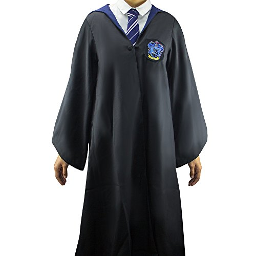 Harry Potter Authentic Tailored Wizard Robes Cloak by Cinereplicas,Ravenclaw,Large Adults
