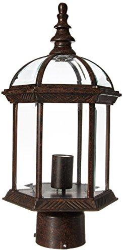 KICHLER  9935TZ One Light Outdoor Post Mount -