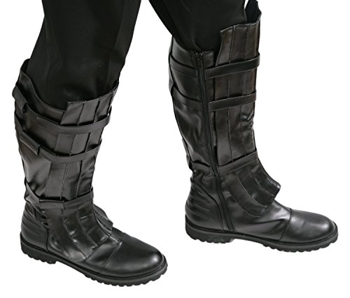 Jedi-Robe Men's Star Wars Anakin Skywalker Boots Large Black (Anakin Skywalker Robe)