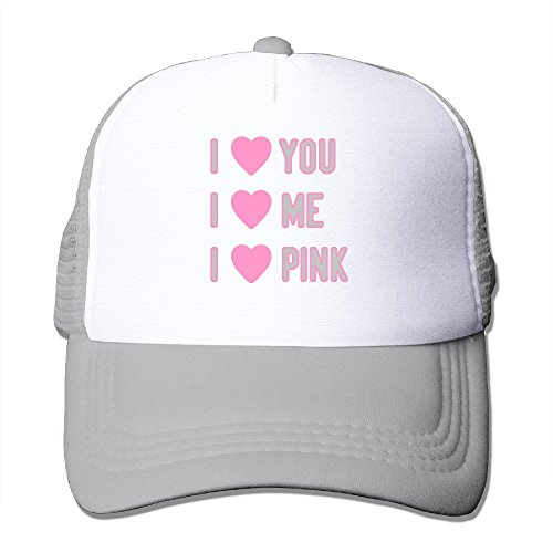 Texhood I Love Pink Love You Geek Trucker Hat One Size - Outlets Washington Hours